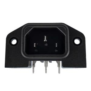 IEC Power Inlet Angled