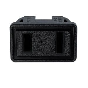 NEMA 1-15R Snap-in AC Power Outlet