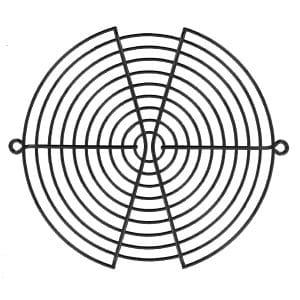 150mm Wire Form Fan Guard, Black