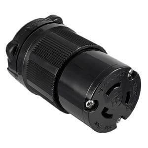 NEMA L6-20R Locking Device