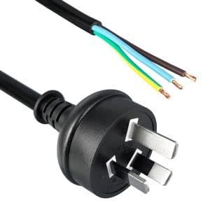 Australia Power Cord AS 3112 to ROJ 50mm, Strip 5mm