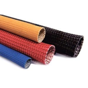 QUS-316 Flexible Fiberglass Uncoated Sleeving