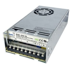 240W Enclosed Frame Power Supply