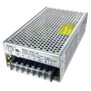 100W Enclosed Frame Power Supply