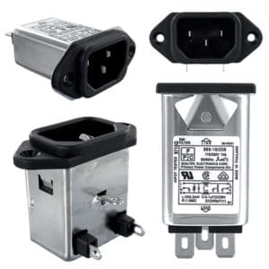 IEC 60320 Power Inlet Filters