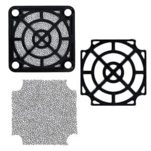 Plastic Fan Filter Assemblies