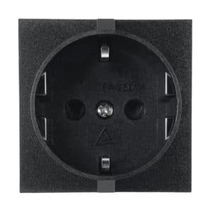 European CEE 7/3 Schuko EU1-16R Snap-in AC Receptacle