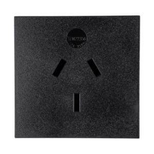 Australia Receptacle, AU1-10R Snap-in AC Power Outlet