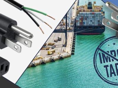 tariff free power cords